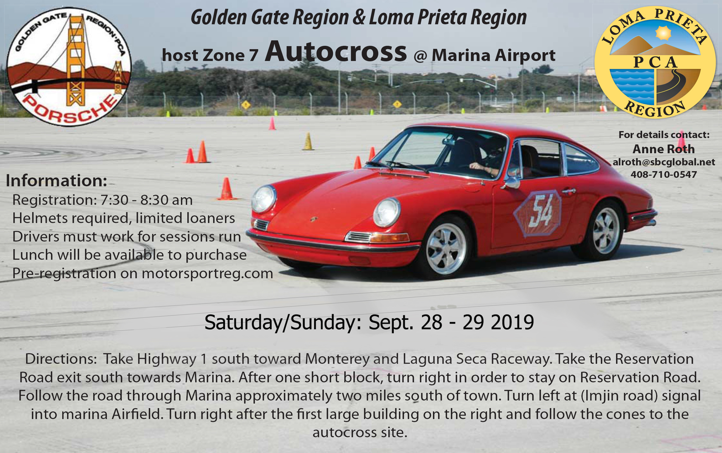 Zone 7 / GGR/LPR Hosted Autocross