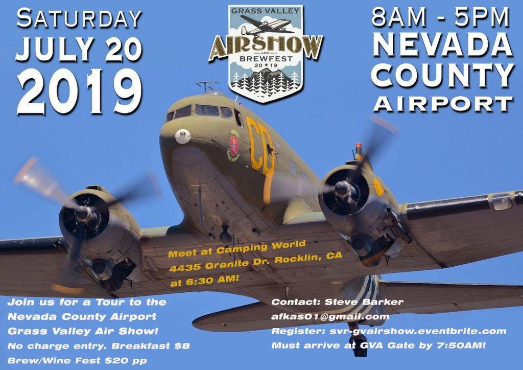 Grass Valley Air Show @ Nevada County Airport