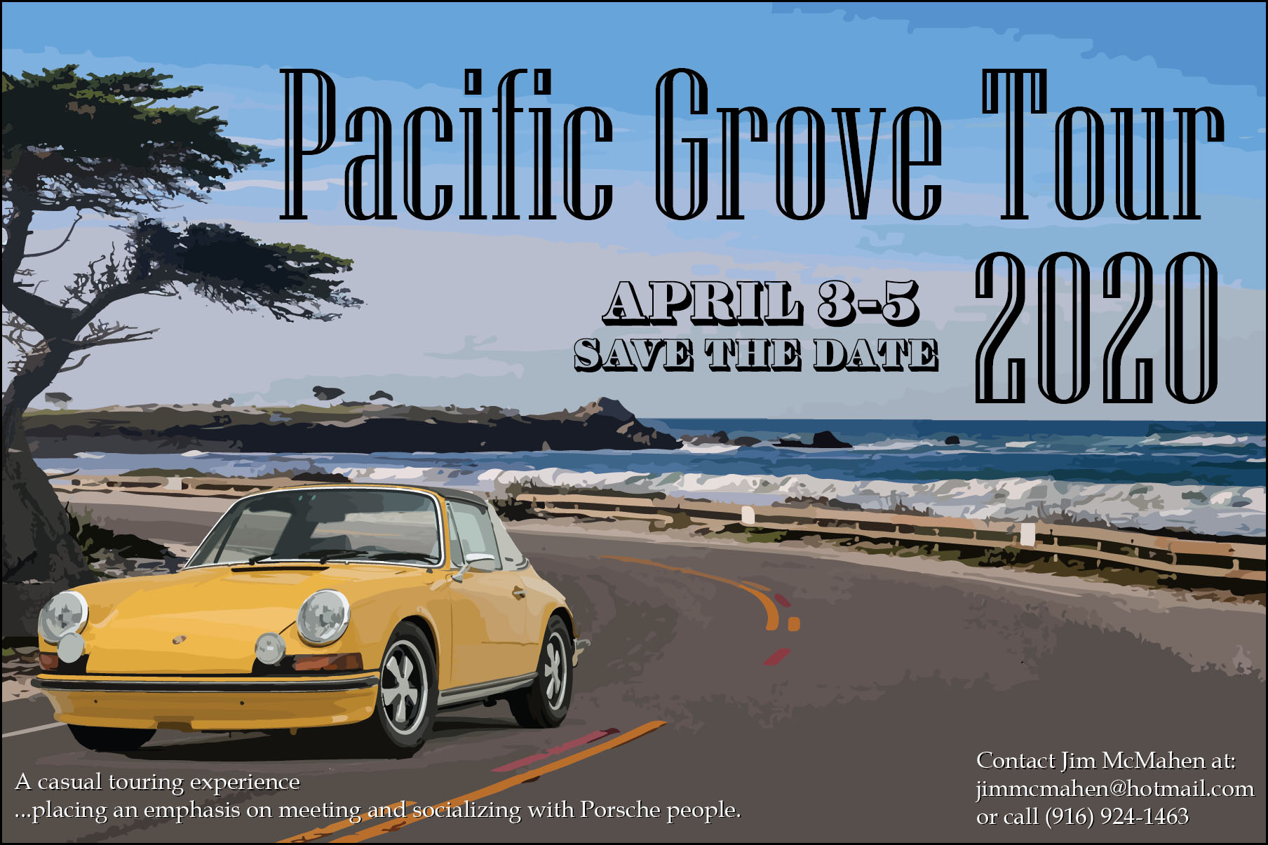 Pacific Grove 2020 - Postponed until June.