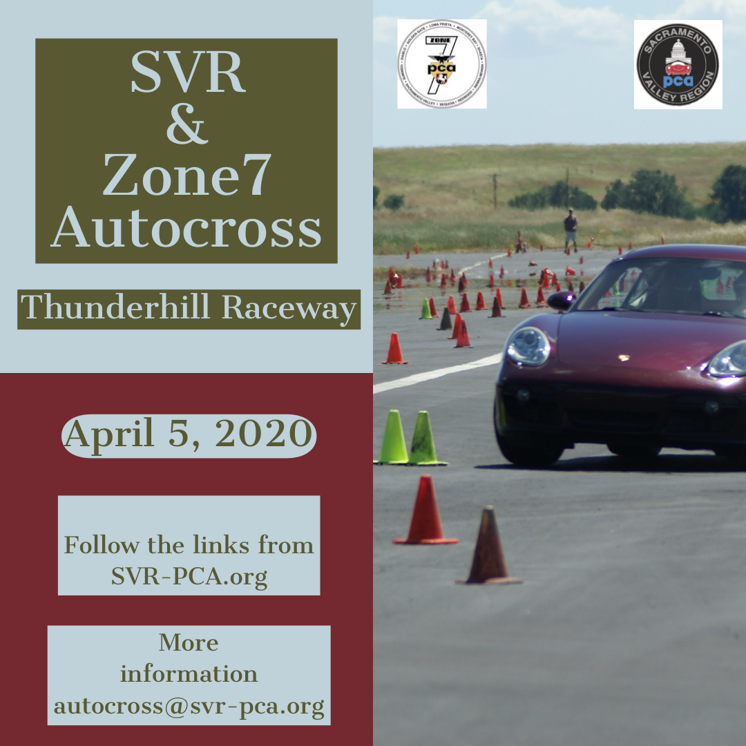 AX 1 Zone 7 Event @ Thunderhill Raceway | Willows | California | United States