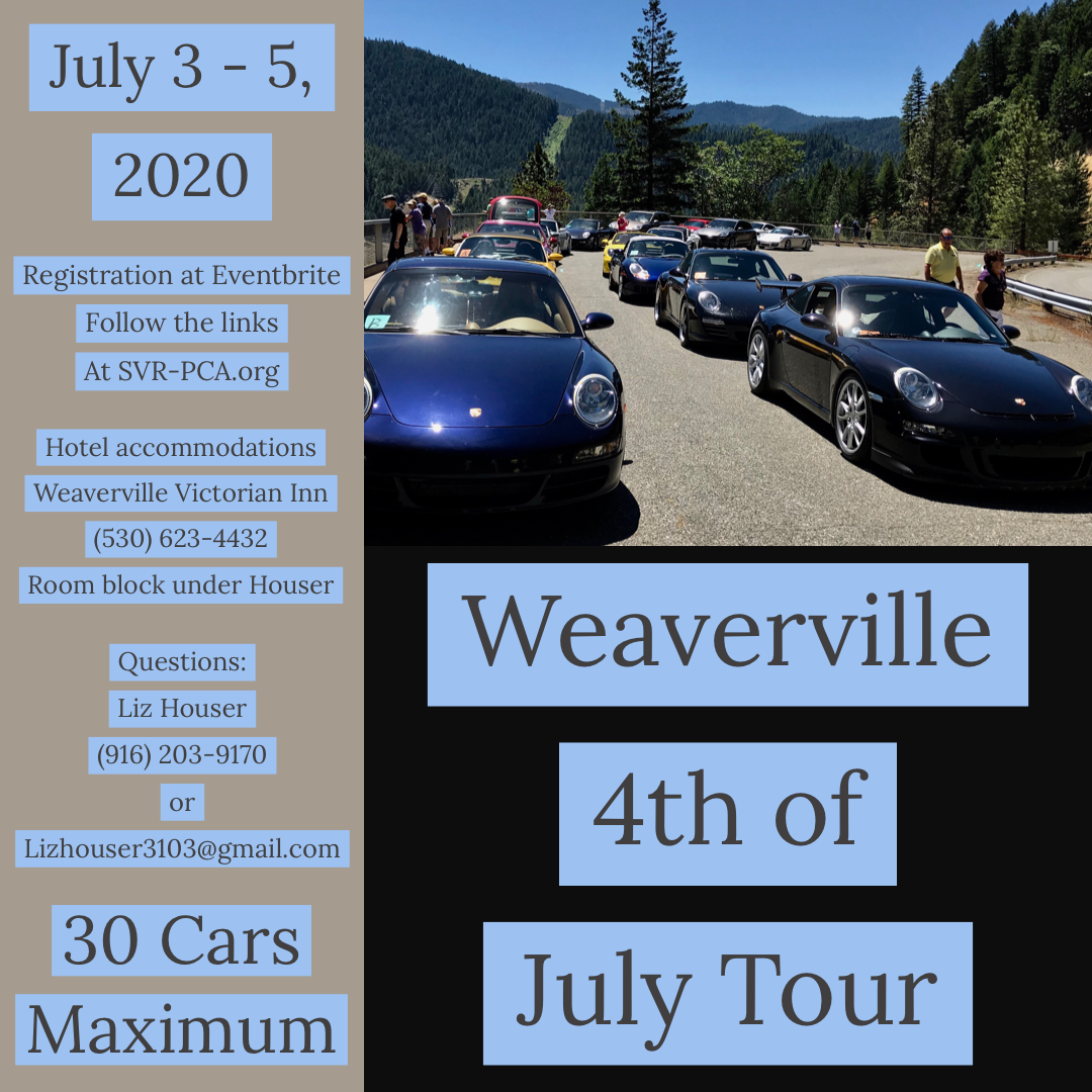Weaverville 4th of July Tour