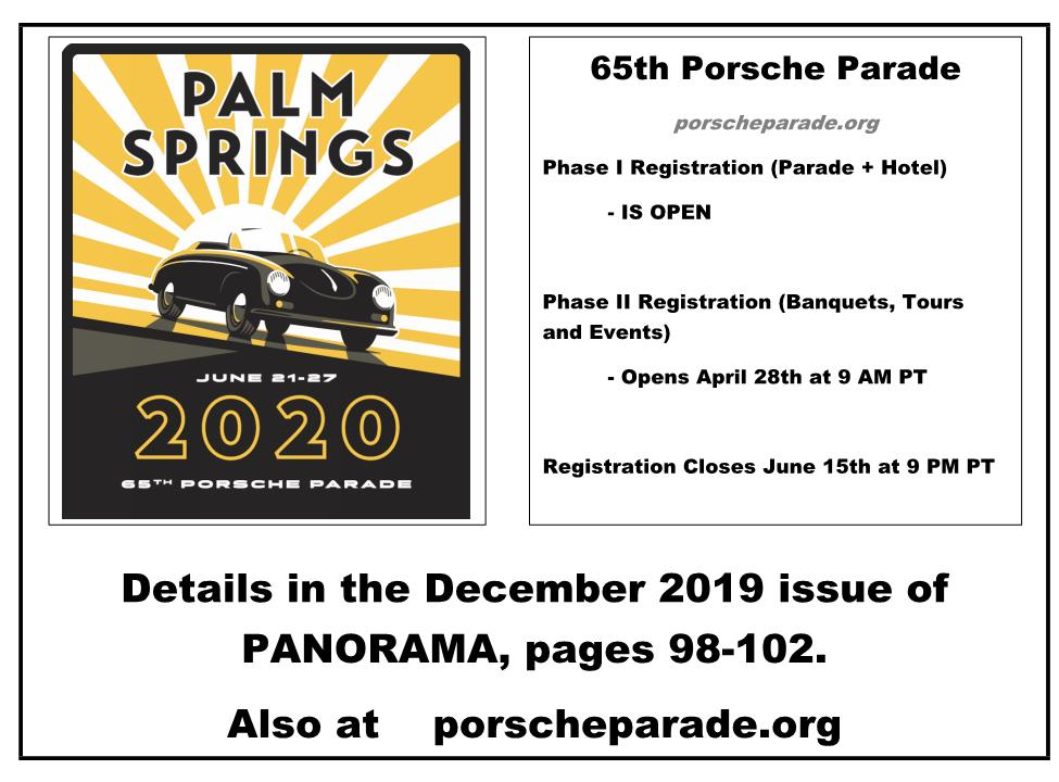 Parade Registration Phase II